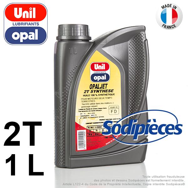 Huile moteur 2 temps synthétique Unil Opal OPALJET – 1 litre