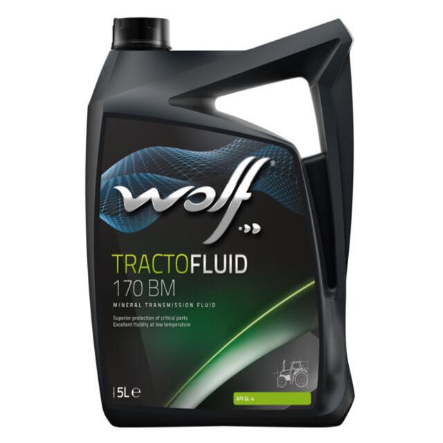 Huile de transmission Wolf Tractofluid 170 BM 5L