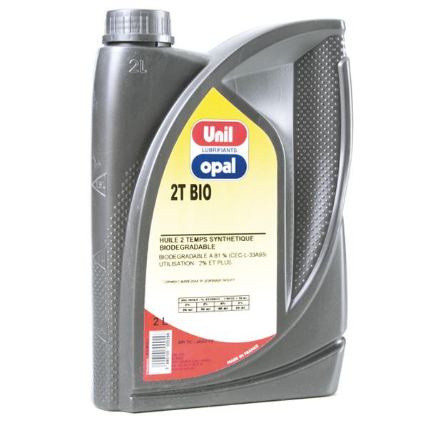 Huile moteur 2 temps Bio Unil Opal – 2 litres