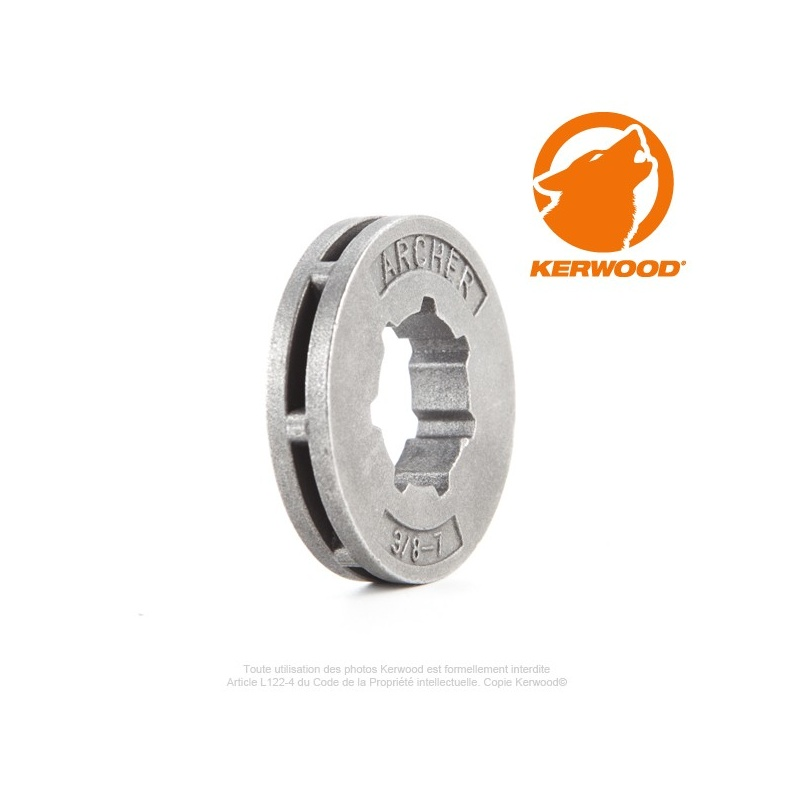 Bague mini 7 dents 3/8″ Kerwood