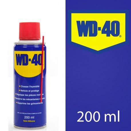 Dégrippant, lubrifiant WD-40 200ml