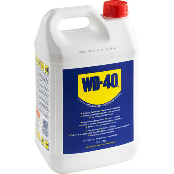 Dégrippant, lubrifiant WD-40 Bidon 5 Litres