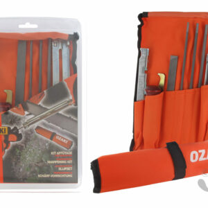 Kit d'affûtage pour chaine de tronçonneuse toutes tailles – OZAKI