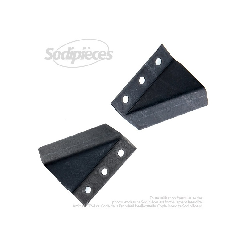 Déflecteurs de lame pour Snapper 37723, 60480, 7037723
