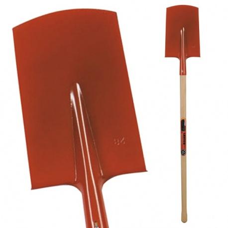Bêche plate 27 cm, manche 100 cm