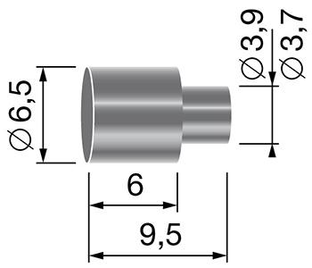 Butée pour gaine Ø 5,5mm