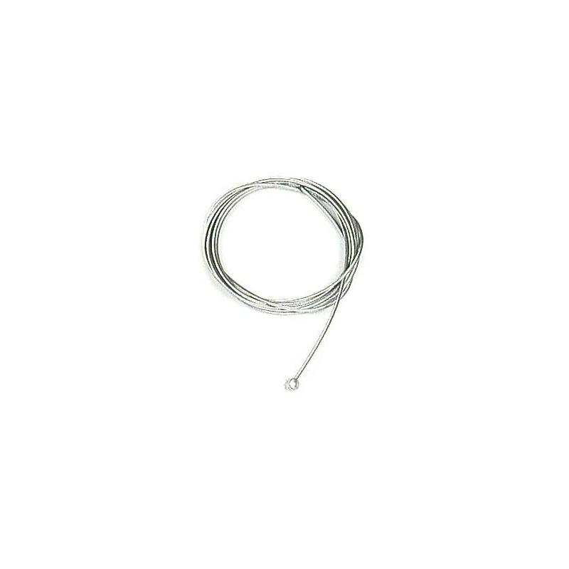 Câble souple Ø 2,5 mm. L : 2,5 m. Embout tonneau 7,8 x 8,1 mm.