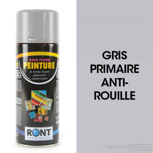Bombe de peinture gris primaire 500 ml – RONT