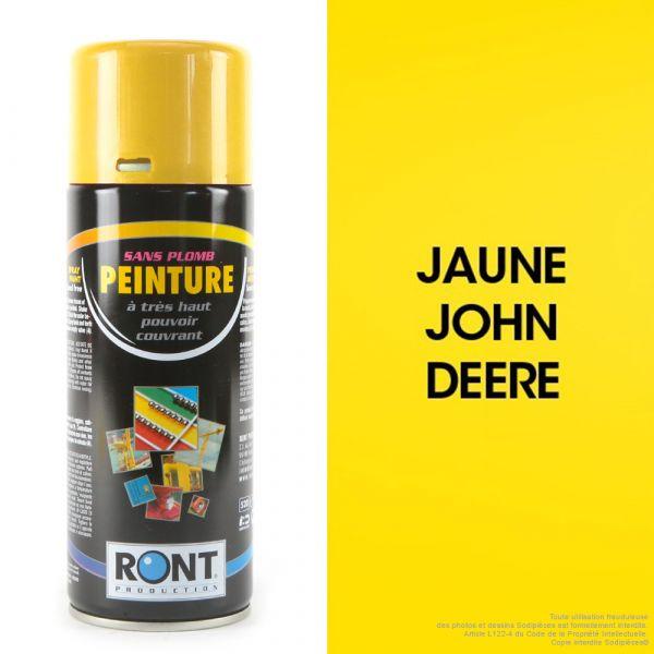 Bombe de peinture jaune John Deere 400 ml – RONT