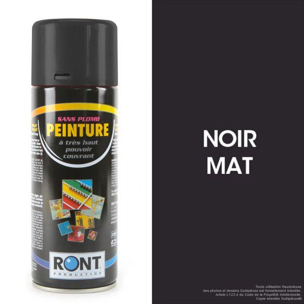 Bombe de peinture noir mat 400 ml – RONT
