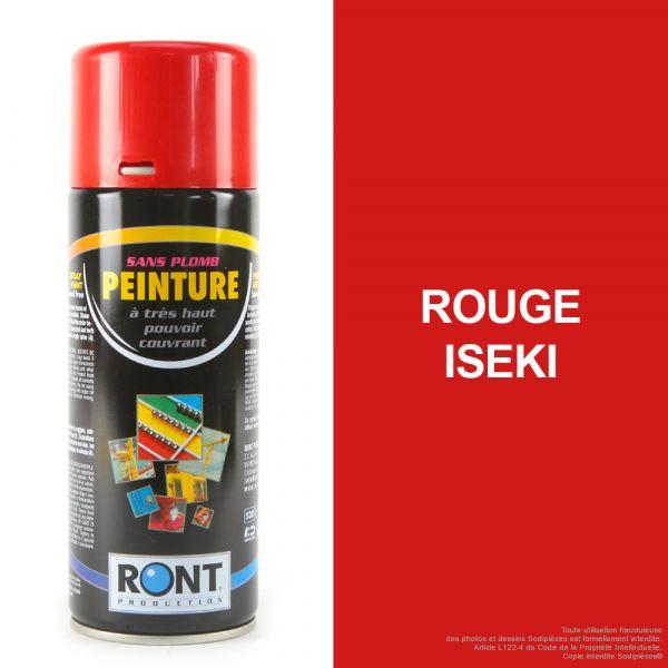 Bombe de peinture rouge Iseki 400 ml – RONT