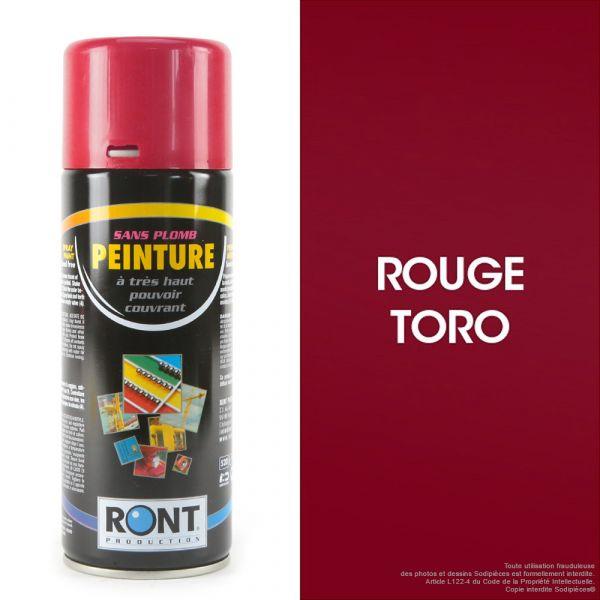 Bombe de peinture rouge Toro 400 ml – RONT