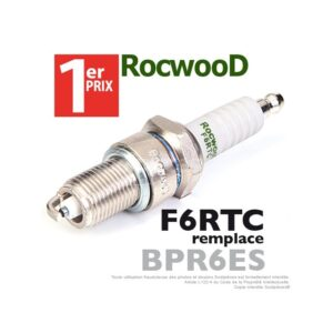 Bougie d'allumage Rocwood F6RTC, BPR6ES