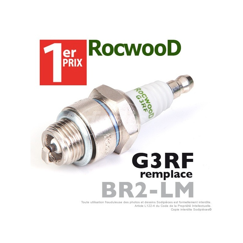 Bougie d'allumage Rocwood G3RF