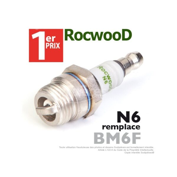 Bougie d'allumage Rocwood N6