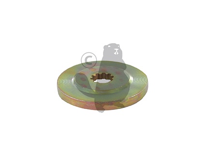 Rondelle de centrage inférieure 10 cannelures origine GGP 118802465