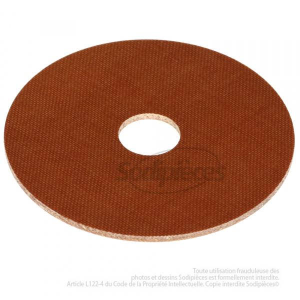 Rondelle de friction en fibre Ø 50 mm, alésage 10 mm