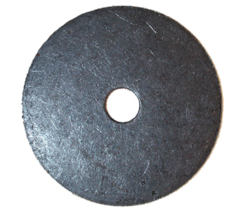 Rondelle plate 10x50x3