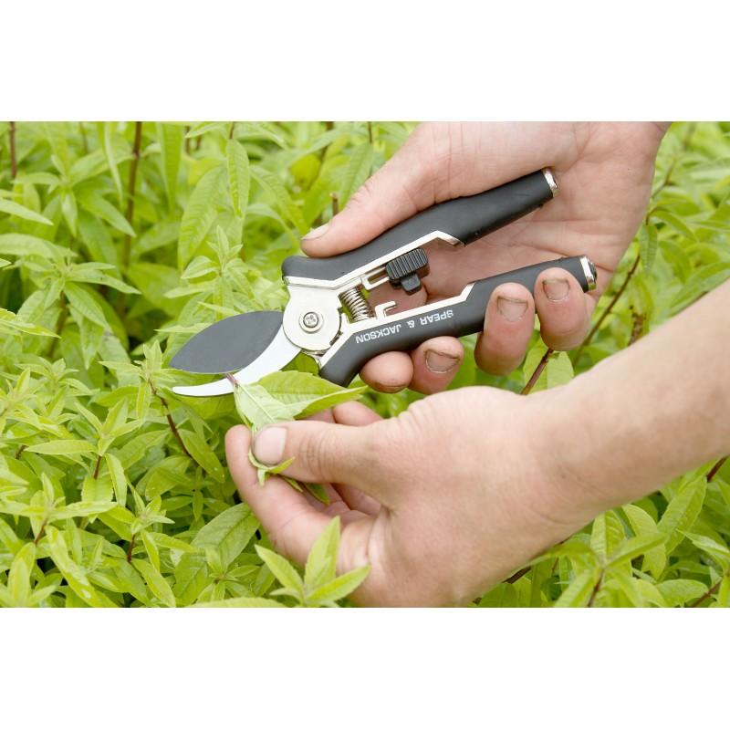 Set sécateur + ciseaux à fleurs Spear & Jackson